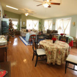 Sunroom / Dining / TV and Gathering Room
