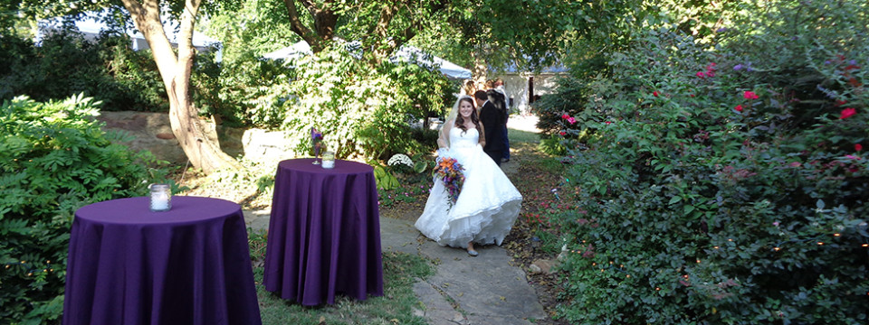 Bride in Bell Hill Garden